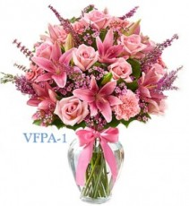 Pink Flow Floral Arrangement