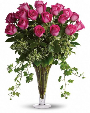 Pink Floyd  Vase Arrangement in Port Stanley, ON | FLOWERS BY ROSITA