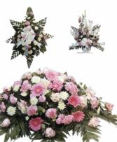 Pink Funeral Funeral Package