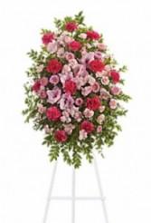 Pink Funeral Spray Sympathy