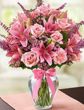 Pink Garden Arrangement