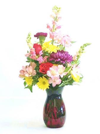Pink Garden Floral Arrangement