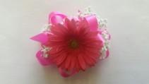 Pink Gerb Corsage