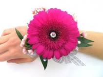 Pink Gerbera Corsage