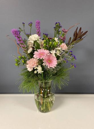 Gerbera Vase Vase Arrangement