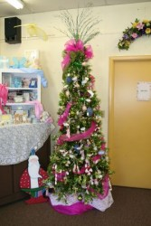 Pink & Green Christmas Tree