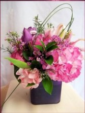 Pink Happiness Floral Arrangement