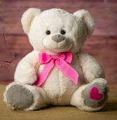 Pink Heart Bear Valentine's Day