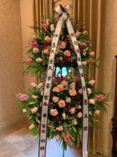 Pink heart Funeral