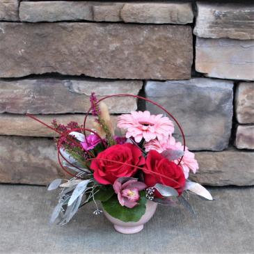 Pink Ice Flower Arrangement