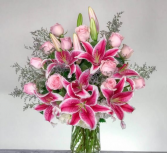 Pink Implosion Arrangement