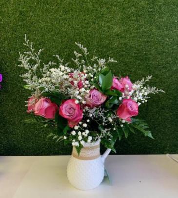 Pink Joyful flowers