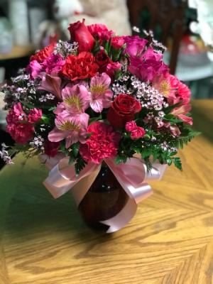 Blushing Dreams  Just Because  in Lauderhill, FL | A ROYAL BLOOM FLOWERS & GIFTS