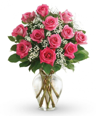Pink Lady Vase Arrangement