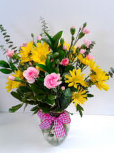 Pink Lemonade  Fresh Arrangement