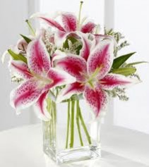 Pink Lily Bouquet S22-4298