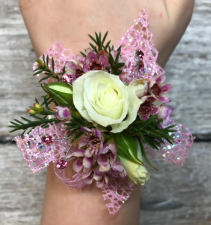 Pink Little Girl's Corsage