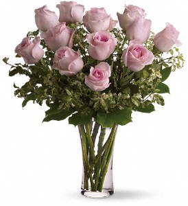 Pink Long Stem Roses Roses Arranged