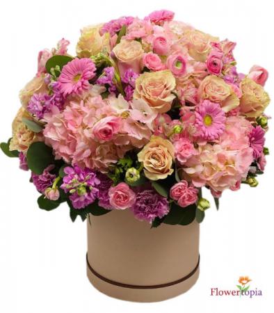 Tender Love  Mix Flower Arrangement