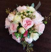 Pink Love Wedding Bouquet, Hand tied