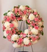 Pink Love Wreath