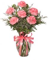 pink luv vase