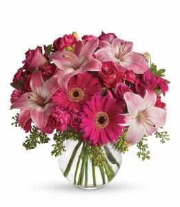 Pink me up! Vase Arrangement