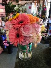 Pink Me Up Vase Arrangement