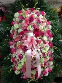 Pink Memorial  Standing Spray