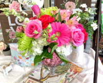 PINK MERCURY  FLOWER ARRANGEMENT