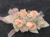 Pink Mini Rose Wrist Corsage FHF-203 ****Pick Up Only***