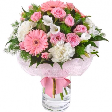 Pink Mini Roses  floral design