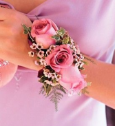 Pink mix Corsage & Boutonniere Prom Special