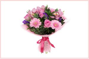 Pink Mood Hand Tied Bouquet in Longwood, FL | Novelties By Nadia Flowers & More