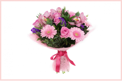 Pink Mood Hand Tied Bouquet