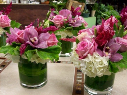 Pink N Classy  Event Centerpieces
