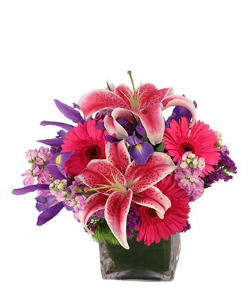 Pink N' Flirty Floral Design