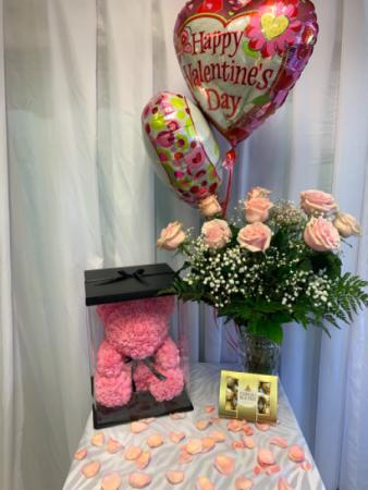 Pink Package  Valentines Pink Package