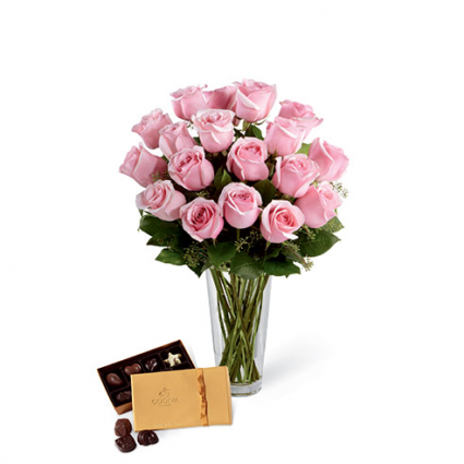 Pink Pair Rose Combo