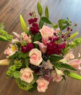 Pink Paradise Vase Arrangement
