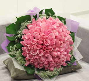 PINK PASSION  100 pink Roses  in Ozone Park, NY | Heavenly Florist