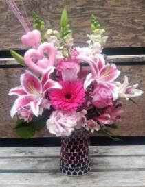 Pink Passion Bouquet VA3