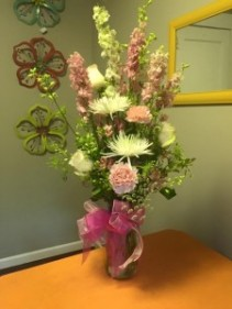 Pink Passion Floral arrangement