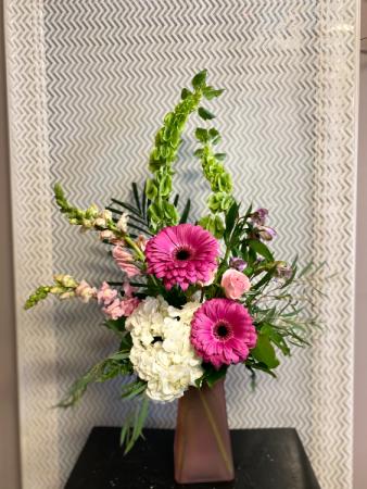 pink passion Flower Arrangement