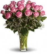 Pink Passion 18 Fresh Cut Roses