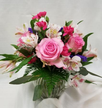 Pink Passion Fresh mixed arrangement