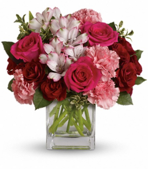 Pink Passion Love and Romance in Lauderhill, FL | BLOSSOM STREET FLORIST
