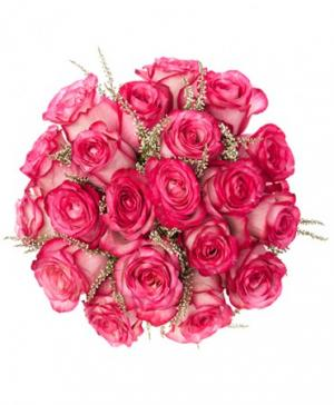 Pink Passion Rose Bridal Bouquet in Red Lake, ON | FOREVER GREEN GIFT BOUTIQUE