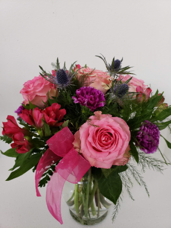 Mother favorite pink and purple Valentine