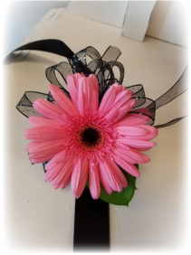 PINK PASSION Wrist Corsage